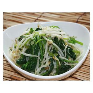 菠菜炒豆芽