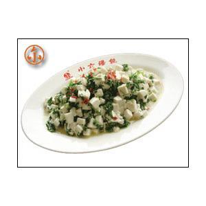 莴笋拌豆腐