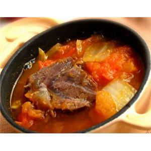 番茄丝瓜肉片汤