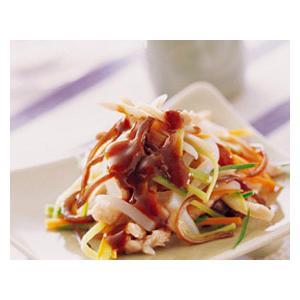 鸡丝蘑芋豆腐