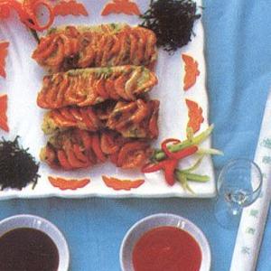 果蔬酱虾饼