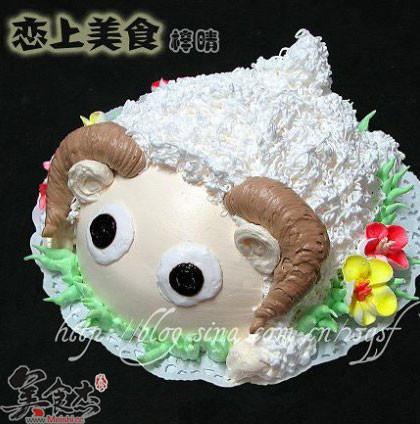 小绵羊蛋糕