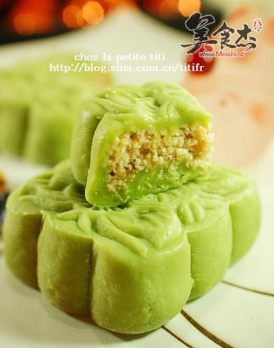 香兰椰丝冰皮月饼