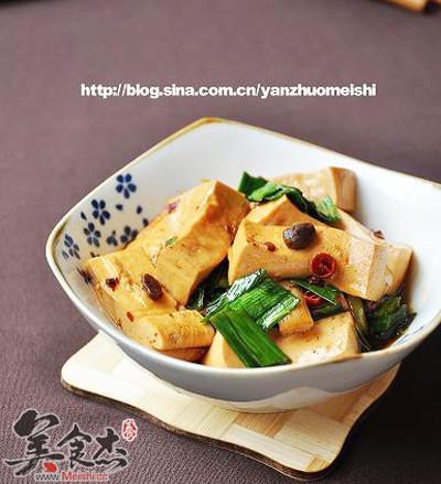 老干妈蒜香豆腐