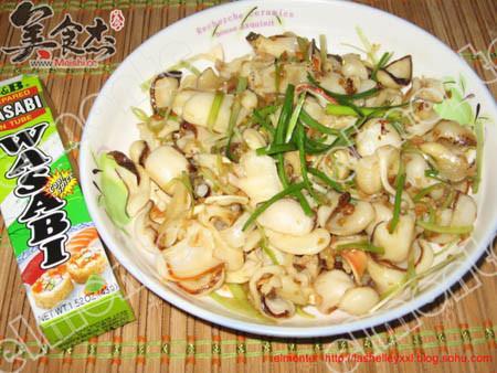 葱拌海螺|葱拌海螺怎么做|葱拌海螺材料 - 脑球美食