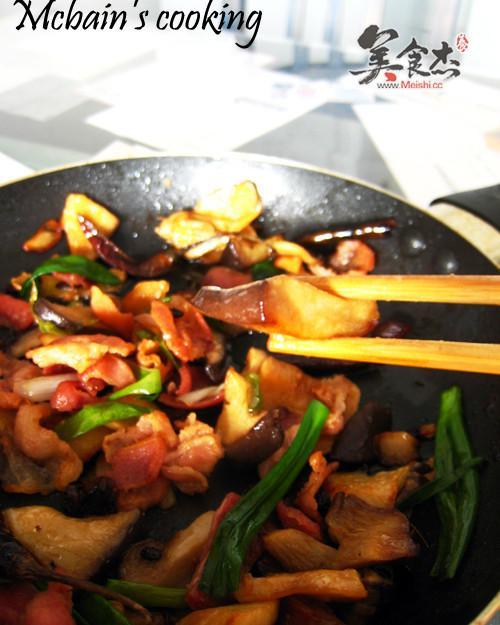 干锅培根王子菇