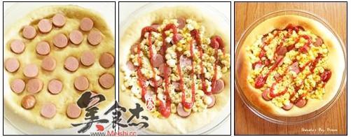 香肠玉米披萨