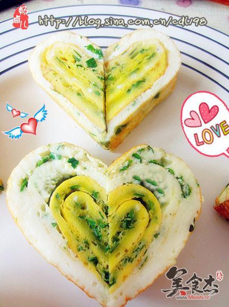 饼表达了爱的心意,去爱的人懂得付出,被爱的人懂得感恩,这样可爱的