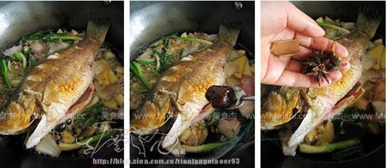 肉末啤酒鲈鱼