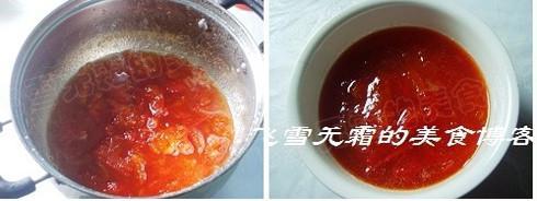 西红柿果酱