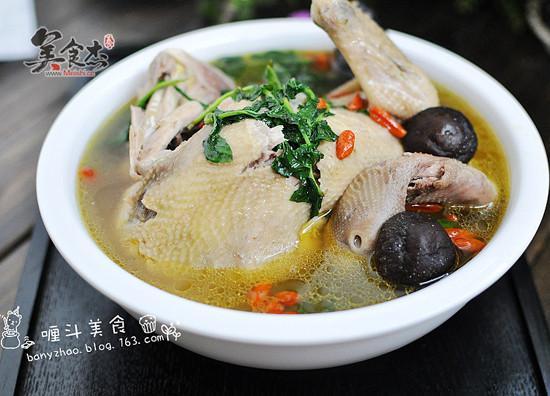 冬菇老鸡汤