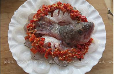 剁椒粉丝开屏鱼
