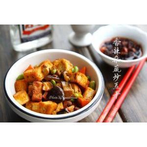 香辣杂蔬炒豆干