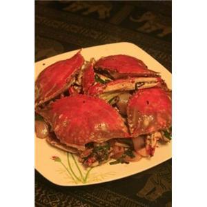干烧梭子蟹