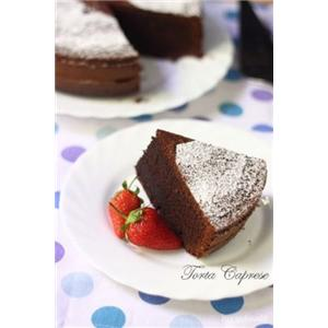 卡布里杏仁巧克力蛋糕
