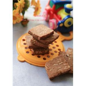 杏仁片巧克力饼干