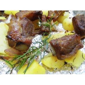 迷迭香小土豆烤排骨