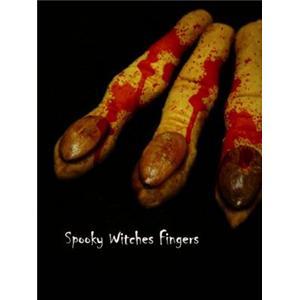 女巫手指饼干Spooky Witches Fingers