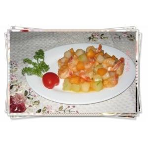 果蔬基围虾