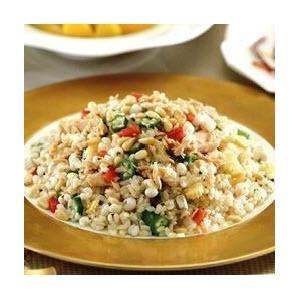 五彩拌薏仁糙米饭