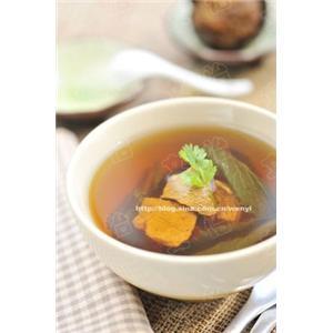 罗汉果干菜汤