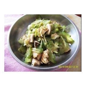 涼瓜炒雞胸肉