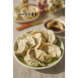 水芹三鲜饺子
