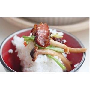 水芹腊肉茶树菇