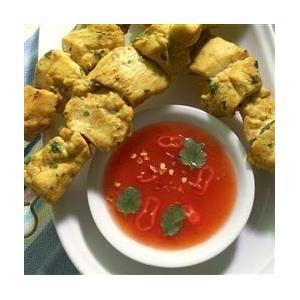 泰国烤鸡配甜辣味酱汁
