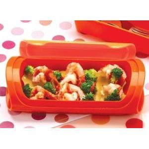 硅胶蒸菜盒食谱  虾子蛋黄酱