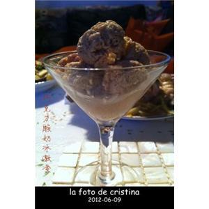巧克力酸奶冰激凌