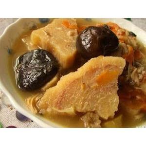 粉葛鲮鱼汤