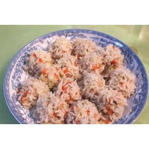 马蹄虾米珍珠丸子