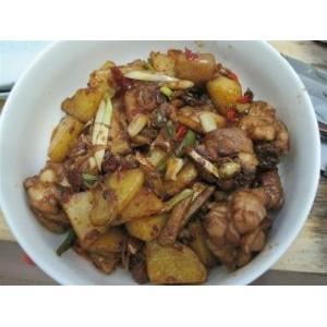 土豆红烧鸡