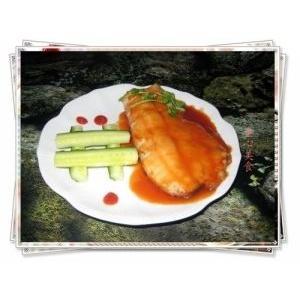 香煎茄汁草鱼——看亚运.学粤菜