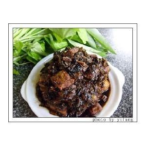 干菜红烧肉