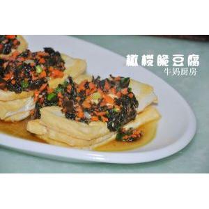 橄榄脆皮豆腐