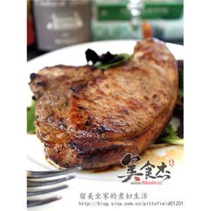 椒盐香焗猪扒