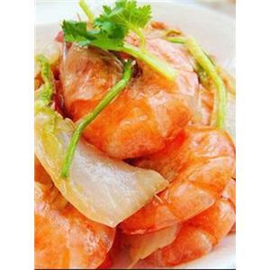 虾子烧白菜头