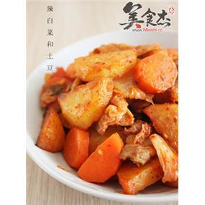 泡菜土豆片