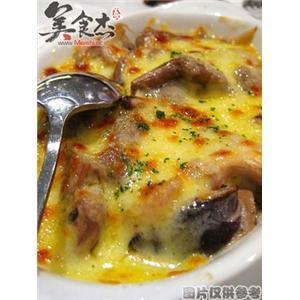 芝士焗奶油蘑菇