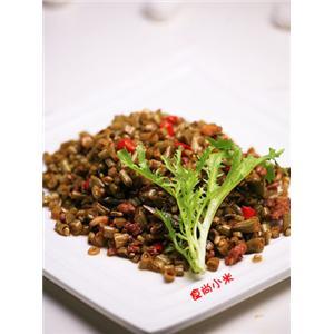 肉末香菇酸豇豆
