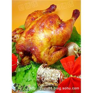 圣诞节烤鸡