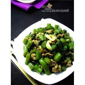 橄榄菜肉沫四季豆