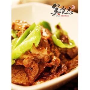 小炒牛肉青椒