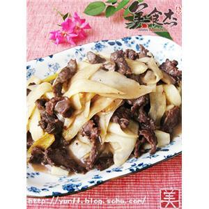茭白炒牛肉