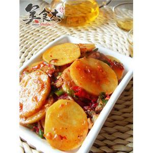 红油土豆片