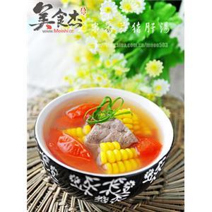 玉米番茄猪肝汤