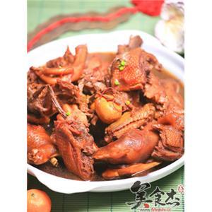 乌梅茶树菇炖鸡