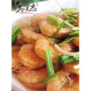姜蒜爆大虾